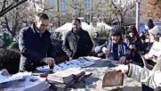 Никулден 2018, Бургас - Кметът раздава вестник