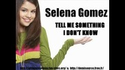 Selena - Tell Me Something I Dont Know