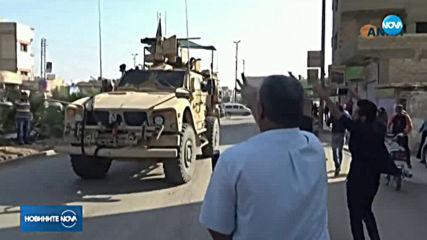 Разгневени сирийци замеряха с картофи американски войски