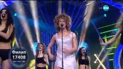 Филип Аврамов като Tina Turner - Като две капки вода - 16.03.2015 г.