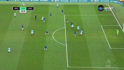 Манчестър Сити - Челси 4:0 /първо полувреме/