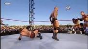 Tribute 2010 John Cena Rey Mysterio And Randy Orton Vs Alberto Del Rio Wade Barrett And The Miz