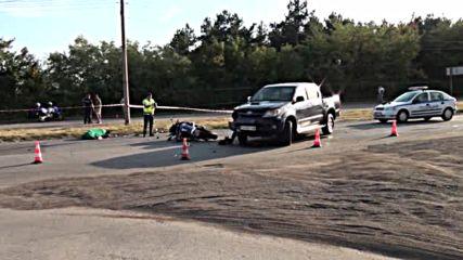 Моторист загина на пътя в Пловдивско