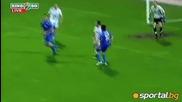Бижутера блести и запази шансовете на Левски за Европа ( Левски - Пирин 2:0 (24.04.2010) )
