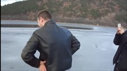 Gangnam style Паника на леда