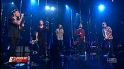 One Direction изпълняват Night Changes - A Current Affair