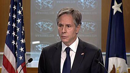 USA: Sec of State Blinken unveils new resettlement programme for Afghans