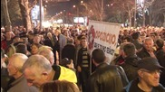 Montenegro: Protesters demand a transitional govt without PM Djukanovic