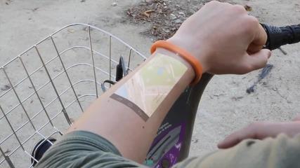 The Cicret Bracelet-смартфона или таблета на бъдещето.?