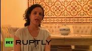 State of Palestine: TV journalist hit by Israeli stun grenade speaks out