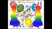 Arabic Oriental Belly Dance Happy Birthday - sana helwa ya gamil_39_