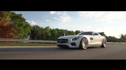 Едно невероятно излъчване ! Mercedes Gt Amg S Vossen