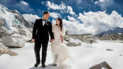 Новините в 90 секунди: Как изглежда сватба на Еверест ?