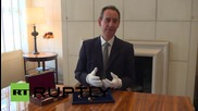 UK: Napoleon's golden pistols could fetch $1.90 million