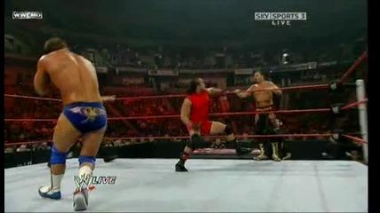 Wwe Raw Chavo Guerrero & Chris Masters Vs. Mvp & Mark Henry