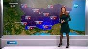 Прогноза за времето (18.01.2016 - централна)