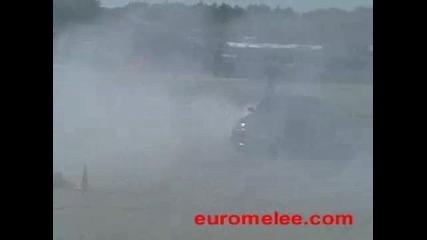 E60 M5 Burnout