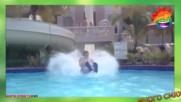 Гафове на водната пързалка - Много смях