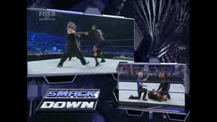 Smackdown 29.08.08 - Jeff Hardy Vs Mvp