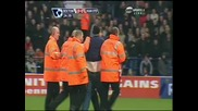 17.01 Болтън - Манчестър Юнайтед 0:1 Фен нахлува на терена