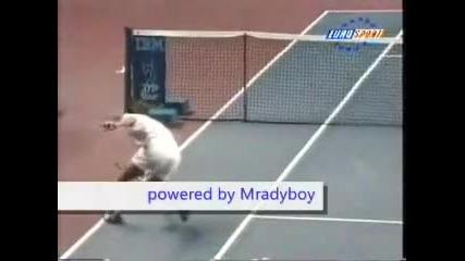 Най - гадният инцидент в тениса !!!