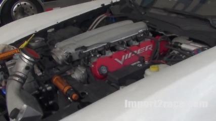 Corvette vs Viper @ Formula Drift Las Vegas