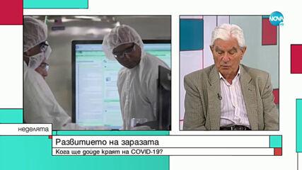 Акад. Петрунов: Докато нямаме ваксина срещу COVID-19, положението няма да стане по-добро