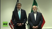 UN: Kerry and Zarif discuss the Middle East