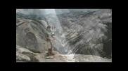 Изпълнение С Гайда От Върха На Планина