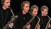 Pink Panther Theme Song Saxophone Quartet