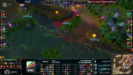 Go4lol #150: Финал Hx3 vs Next Level Generation