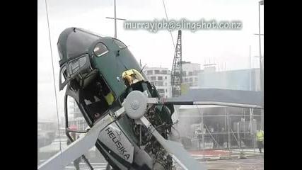 Жестока катастрофа на хеликоптер