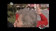 Луди хора по улиците на София