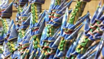 3d Оригами паун