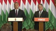 Hungary: Orban insists no collective refugee settlement will take place