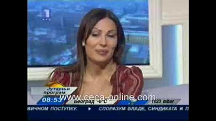Цеца - Интервю 31.12.2008.wmv
