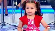 Малката Милена има енергия, голяма като таланта й