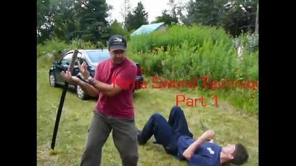Quick and deadly! - Ninja Sword Techniques Part1