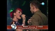 Жана Бергендорф X Factor (21.11.13)