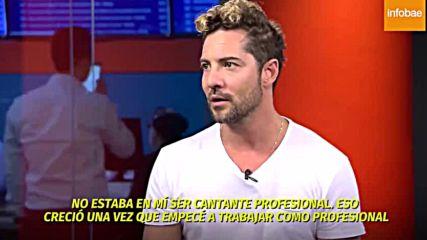 David Bisbal Entrevista / Teleshow Argentina