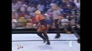 Мача в който Батиста дебютира в Smackdown
