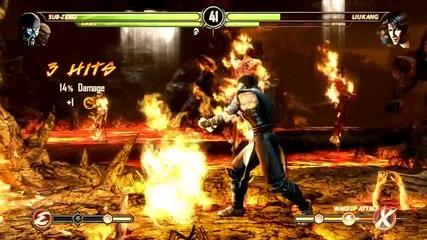 Mortal kombat kompete edition Хриси играе срещу компютъра отново
