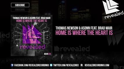 Thomas Newson & Asonn feat. Brad Mair - Home Is Where The Heart Is ( Original Mix )