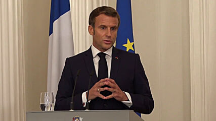 Latvia: Macron touts joint declaration with Latvia and Lithuania on 'protection of democraties'