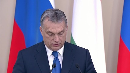 Russia: 'In international affairs we cannot avoid Russia' - Hungarian PM Orban