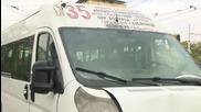 Катастрофа между маршрутка и лека кола в столицата