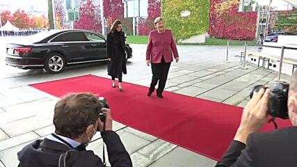 Germany: Merkel meets Finnish PM Marin to discuss joint policy issues
