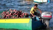 Най-младият рибар в Газа храни девет човека всеки ден