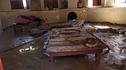 India: Streets covered in mud and debris as deadly floods hit Uttarakhand
