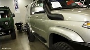 Uaz Patriot Pickup 4x4 Offroad Tuning - Exterior Walkaround